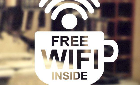 Wifi gratuito e diritto d'autore
